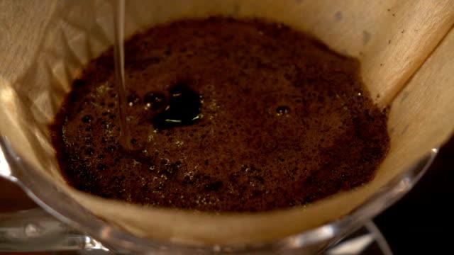 vídeos de stock e filmes b-roll de gota de café - aromaterapia