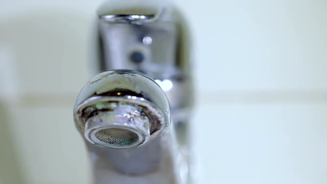 dripping faucet old, ruin - looping - rusty stock videos & royalty-free footage