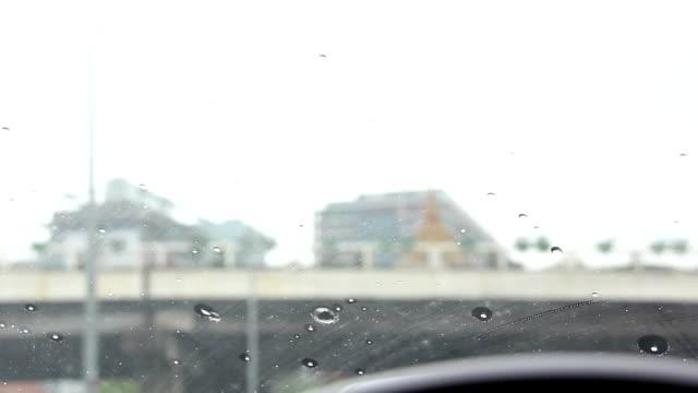 drive car during rain video