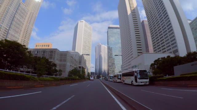 お車で街の-shinjuku-4 k - 運転手点の映像素材/bロール
