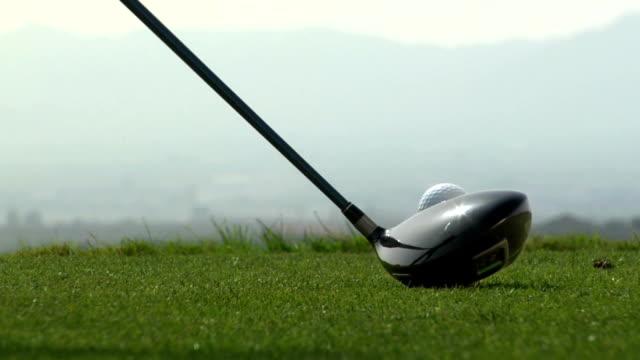 (Golf) en automóvil - vídeo