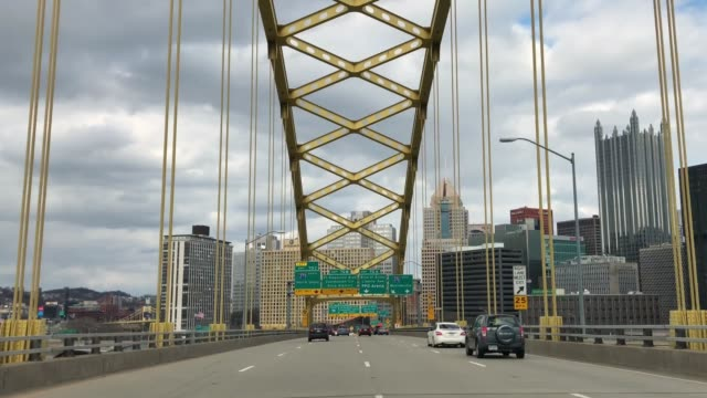 Driver's View Entering Pittsburgh from Fort Pitt Tunnel video
