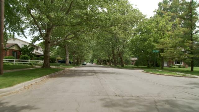 Driving 01 suburbs video