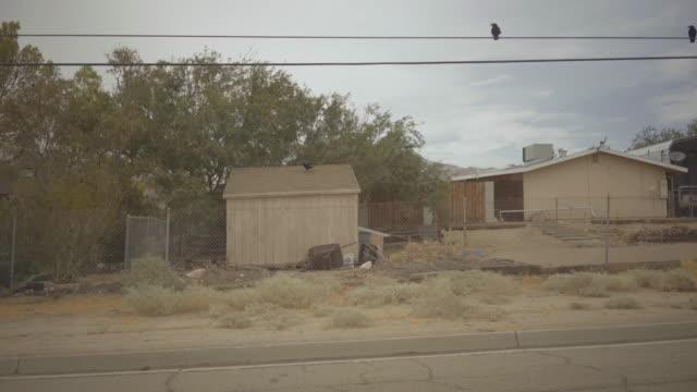 Driving a car in Death Valley scenic roads POV video