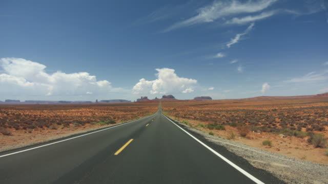 POV Autofahren in Monument Valley – Video