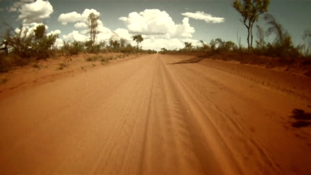 NTSC TIME LAPSE: Driving Across The Australian Outback video