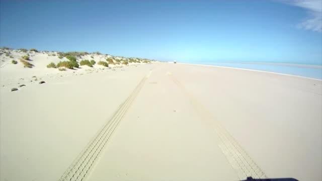 HD: Driving Along The Beach video