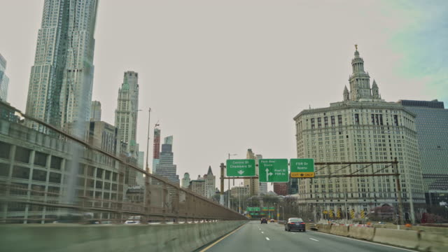 Driving Brooklyn Bridge. Driving Brooklyn Bridge, unusually deserted because of the COVID-19 Coronavirus Outbreak. 4K UHD video footage. new york architecture stock videos & royalty-free footage