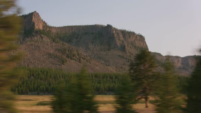 Driving by beautiful scenery. video