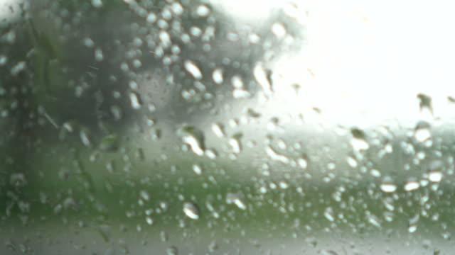 Driving Car in The Rain video