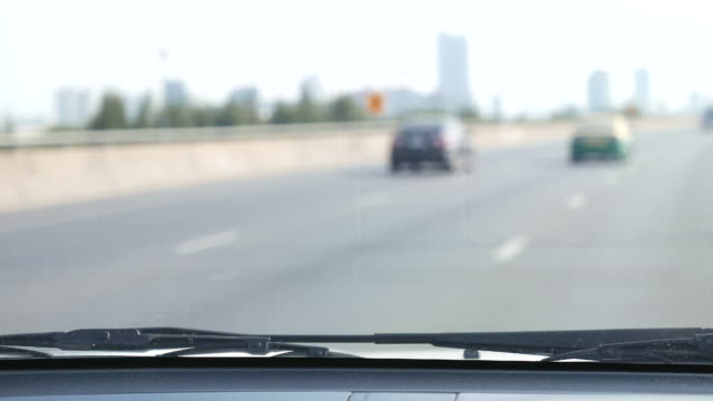 Driving car video