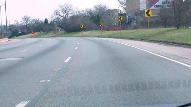 Driving Chicago's 290 Expressway During Coronavirus Shutdown video