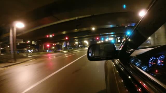 driving down a city street in boston massachusetts - проспект стоковые видео и кадры b-roll