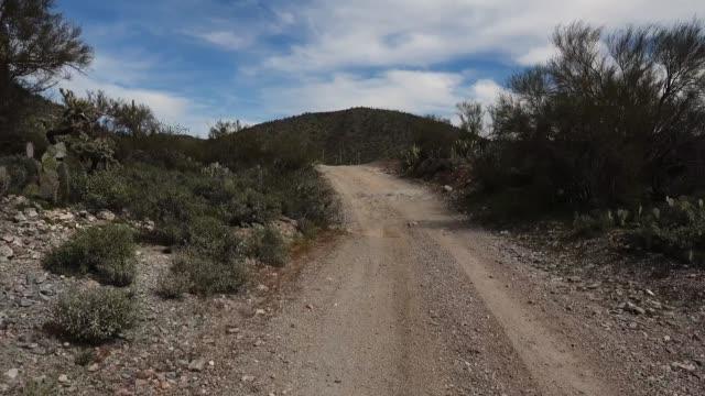 POV Driving in Arizona Desert video