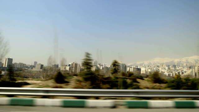 在德黑蘭駕駛 - 德黑蘭 個影片檔及 b 捲影像