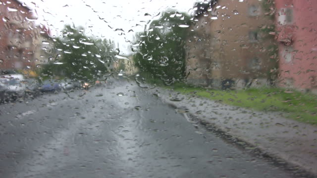 Driving in the Rain video