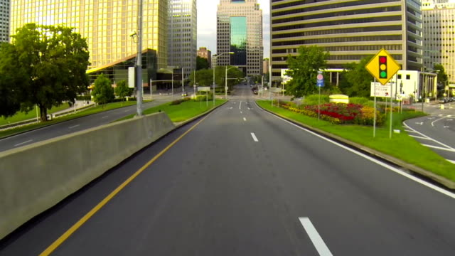 Driving into Downtown Pittsburgh video