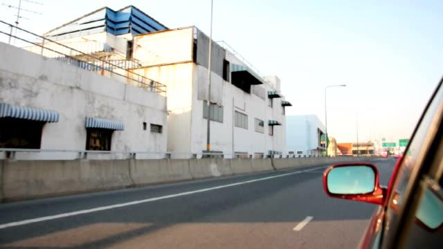 Driving on Highway of Bangkok video