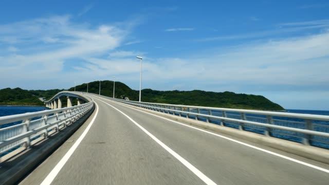 körning på bron - bilperspektiv bildbanksvideor och videomaterial från bakom kulisserna