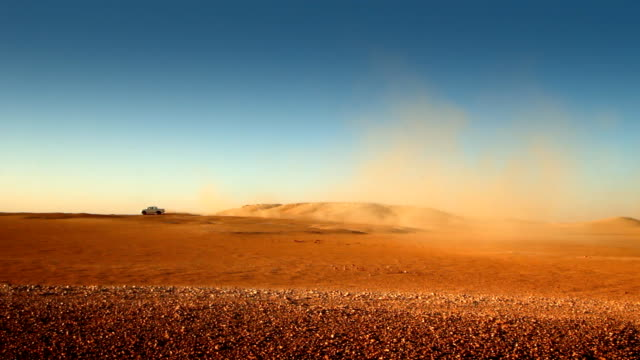Driving on the desert video