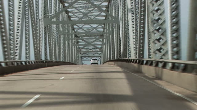 Driving over Cantilever Bridge video
