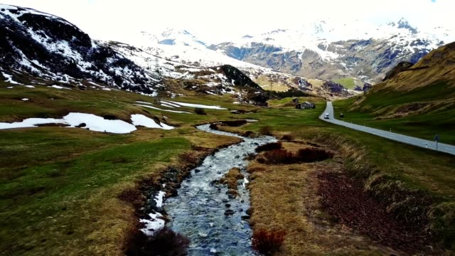driving over the julier pass