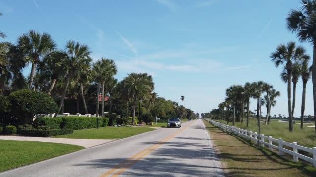 Driving Plate in Florida Neighborhood video