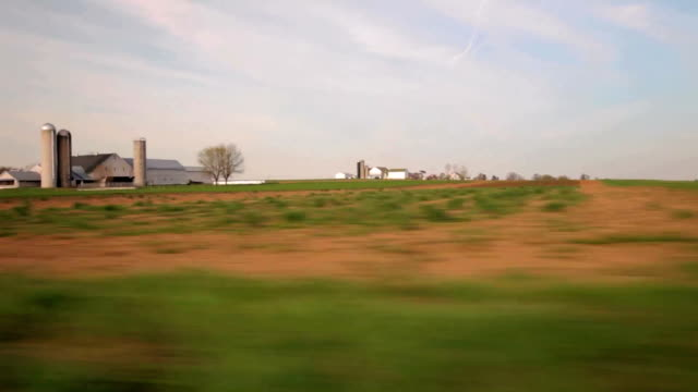Driving shots of countryside landscapes. video