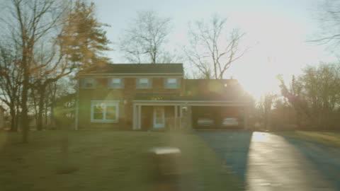 vídeos de stock e filmes b-roll de driving side studio background process plate pov chroma key series - cena rural
