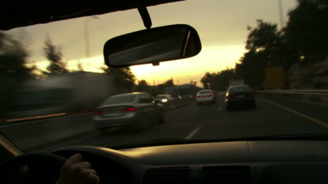 Driving Sunset TL video
