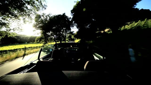 Driving Through Napa Valley video