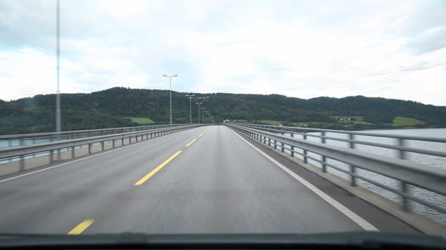 Driving Through Norway video