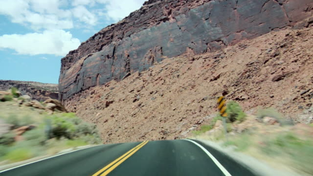 Driving Through Scenic Views video
