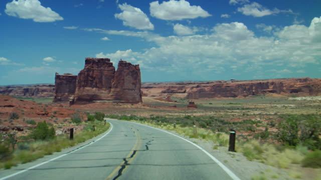 Driving Through Scenic Views video