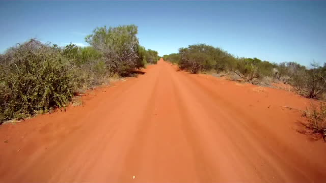 NTSC: Driving Through The Australian Outback video