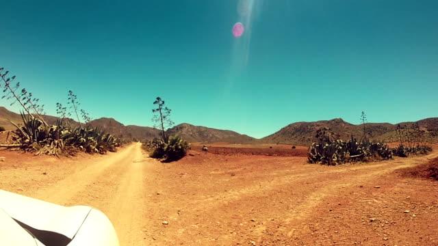 Driving through the desert video