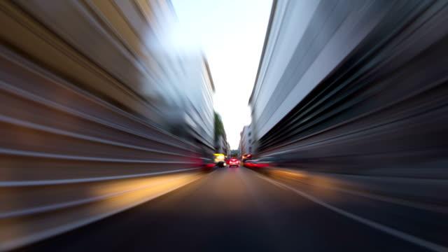 Driving Time Lapse Lyon video