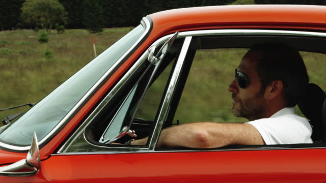 Driving (Shot on Red) Selected Takes - Shot on RED ONE sports car stock videos & royalty-free footage