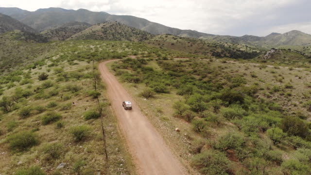 driving - aerial overview soil stock-videos und b-roll-filmmaterial
