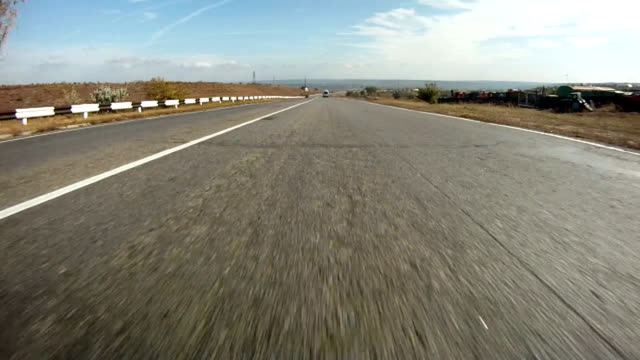 Driving POV video