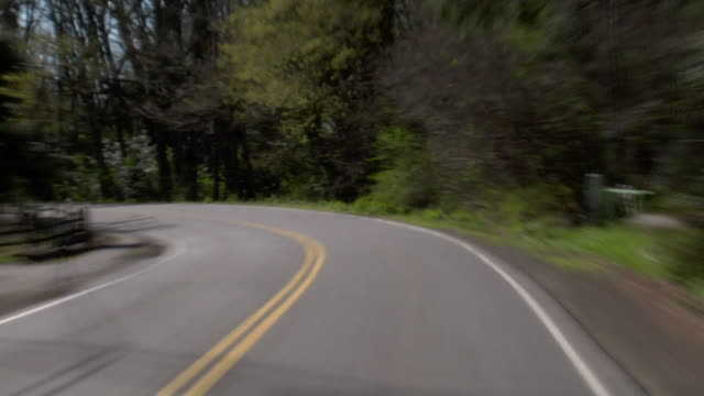 Driving Windy Road video