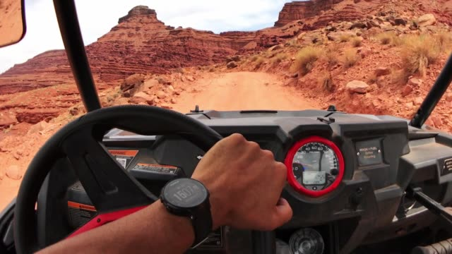 driving with an atv in moab