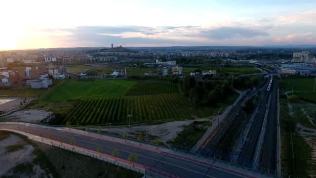 dron lleida - lleida stok videoları ve detay görüntü çekimi