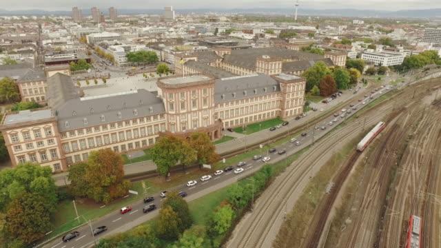 Drohnenflug über Universität Mannheim – Video