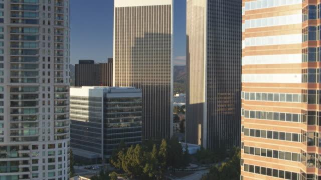 Drone Flight Through Century City, Los Angeles video