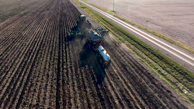 Drone Following Planter video