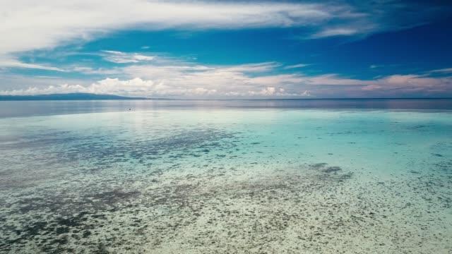 vídeos y material grabado en eventos de stock de imágenes de zángano de las islas tropicales alrededor de sabah, borneo, malasia - palaos
