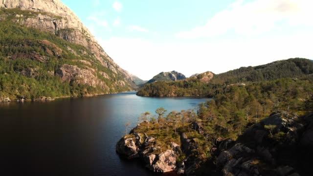 Drone footage - Scandinavian landscape