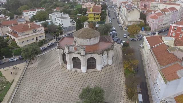 drone lisbon chapel