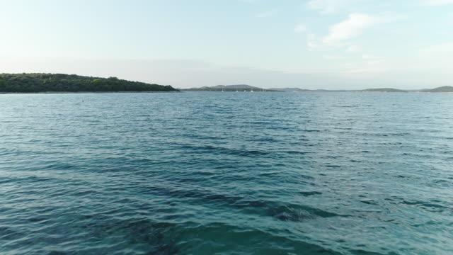 Drone Point of View on Dugi Otok Island in Croatia video